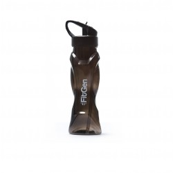 FitGen Curve Black Water Bottle