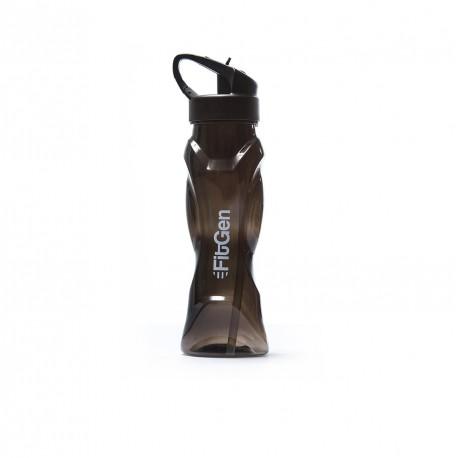 FitGen Curve Black Water Bottle