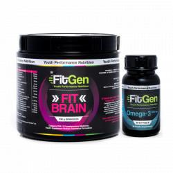 FitGen FitBrain + Omega 3 Combo